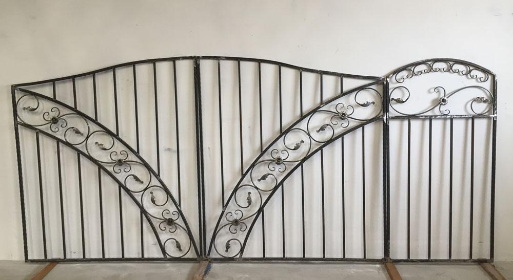 Ворота и калитка серии «Шале»